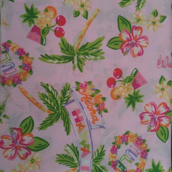 none Other - hawaiian fabric